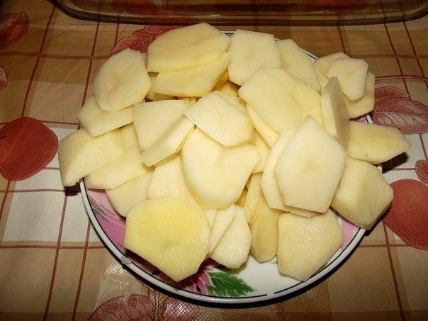 Картофель Bon App?tit - приготовление, шаг 2