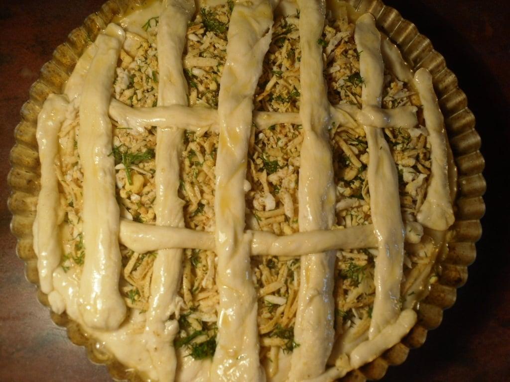 Закусочный пирог - приготовление, шаг 6