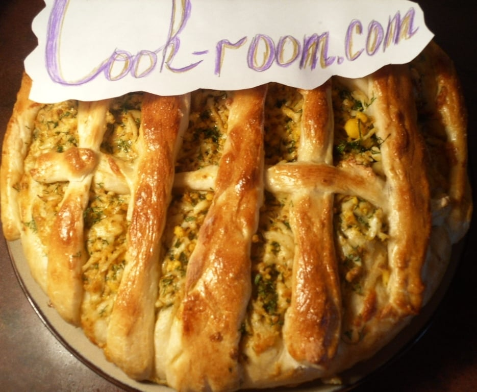 Закусочный пирог - приготовление, шаг 7