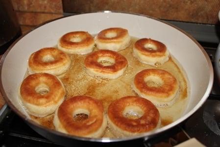 Пончики домашние