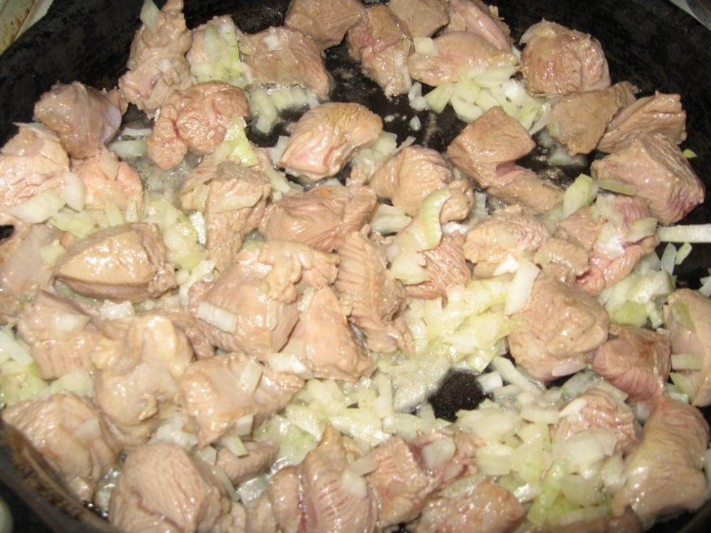 Индейка в сливочно-горчичном соусе - приготовление, шаг 3