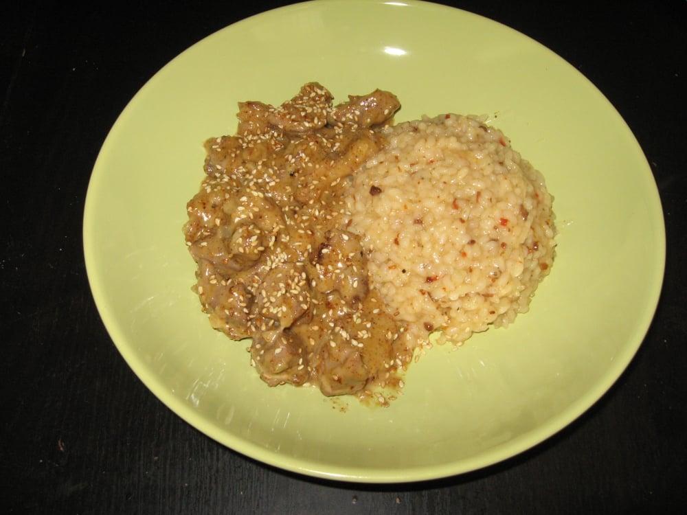 Индейка в сливочно-горчичном соусе - приготовление, шаг 7
