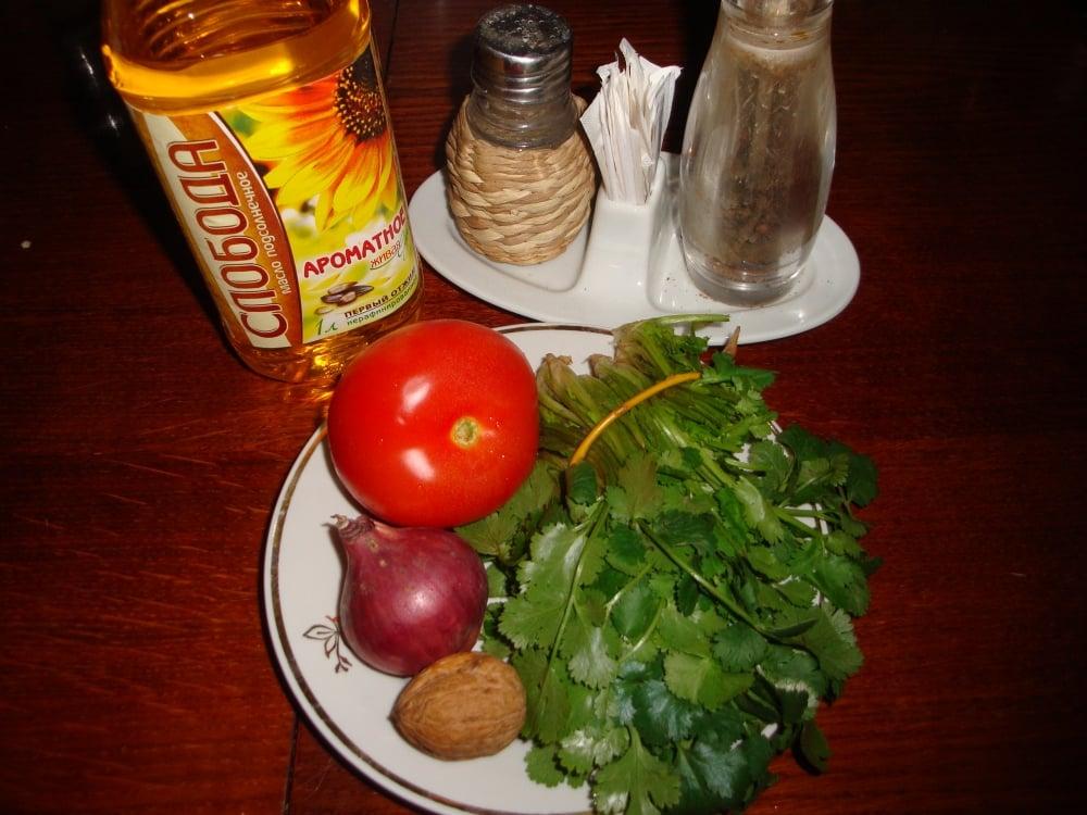 Индийский салат - приготовление, шаг 1