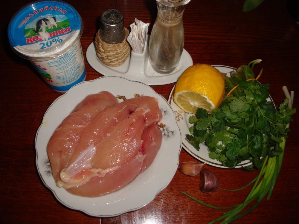 Курица под нежно-острым соусом - приготовление, шаг 1
