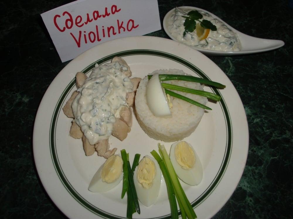 Курица под нежно-острым соусом - приготовление, шаг 5