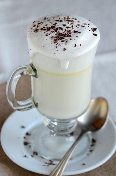 Горячий белый шоколад - приготовление, шаг 1