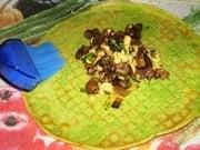 Блинчики со шпинатом - приготовление, шаг 7