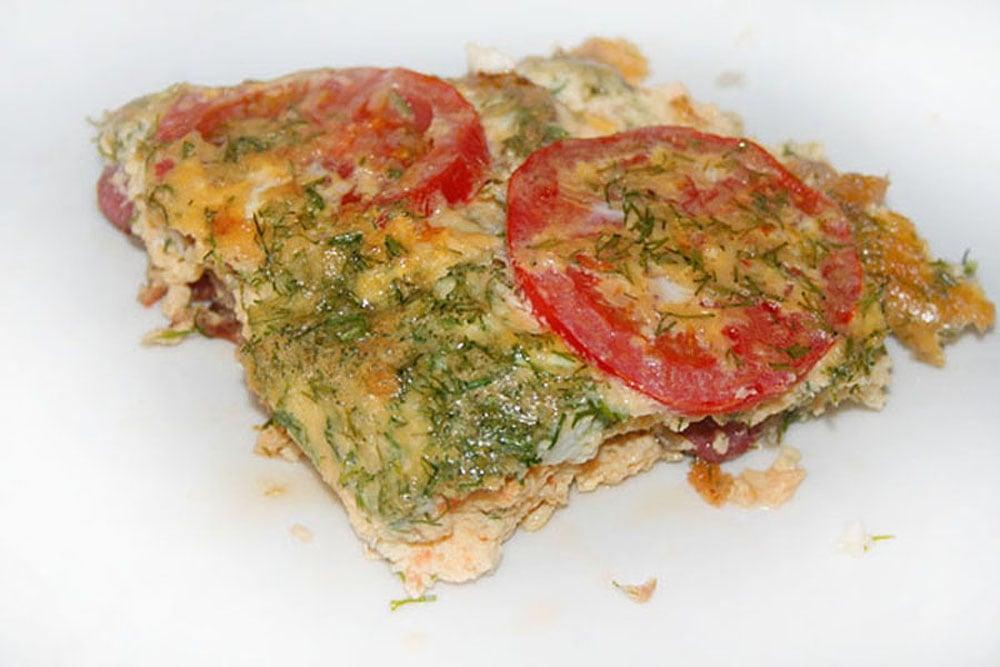 Фритатта с помидорами и охотничьими колбасками - приготовление, шаг 5