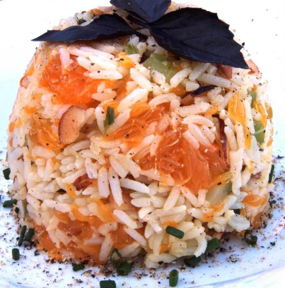 Рисовая каша с мандаринами - приготовление, шаг 1