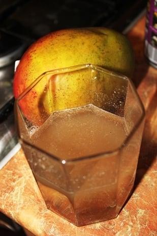Мусс с манго и кокосовым молоком - приготовление, шаг 1