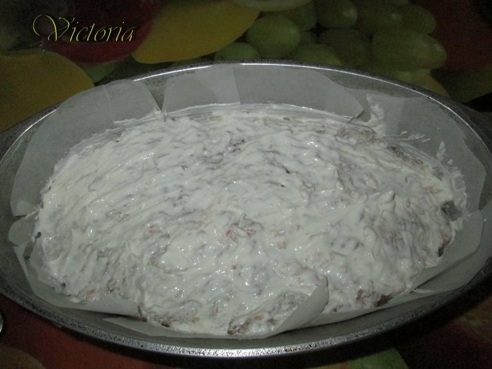 Мясной пирог с яйцами и овощами - приготовление, шаг 19