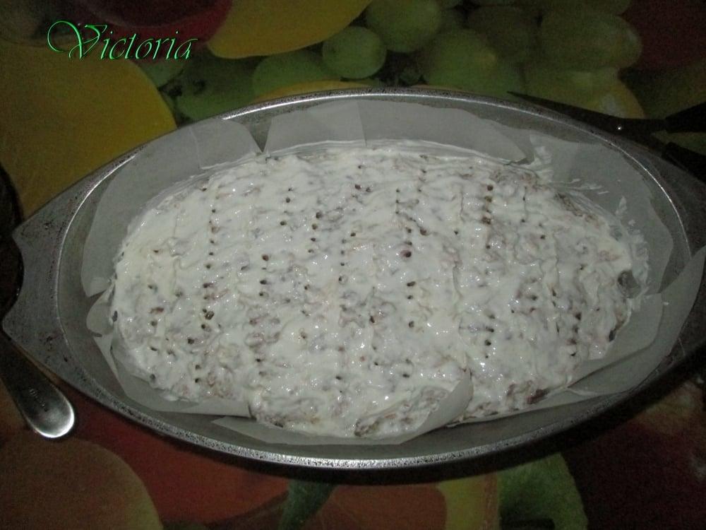 Мясной пирог с яйцами и овощами - приготовление, шаг 21