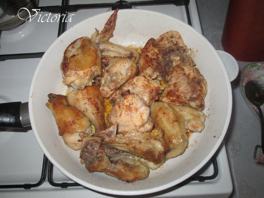Овощное рагу с курицей - приготовление, шаг 2