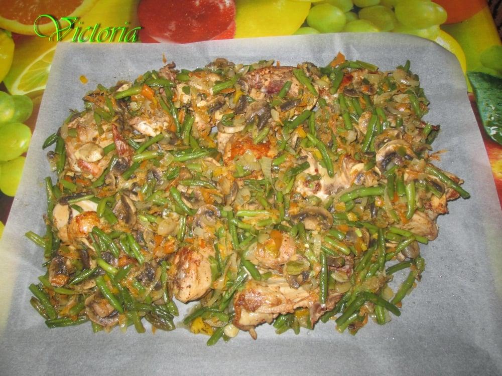 Овощное рагу с курицей - приготовление, шаг 8