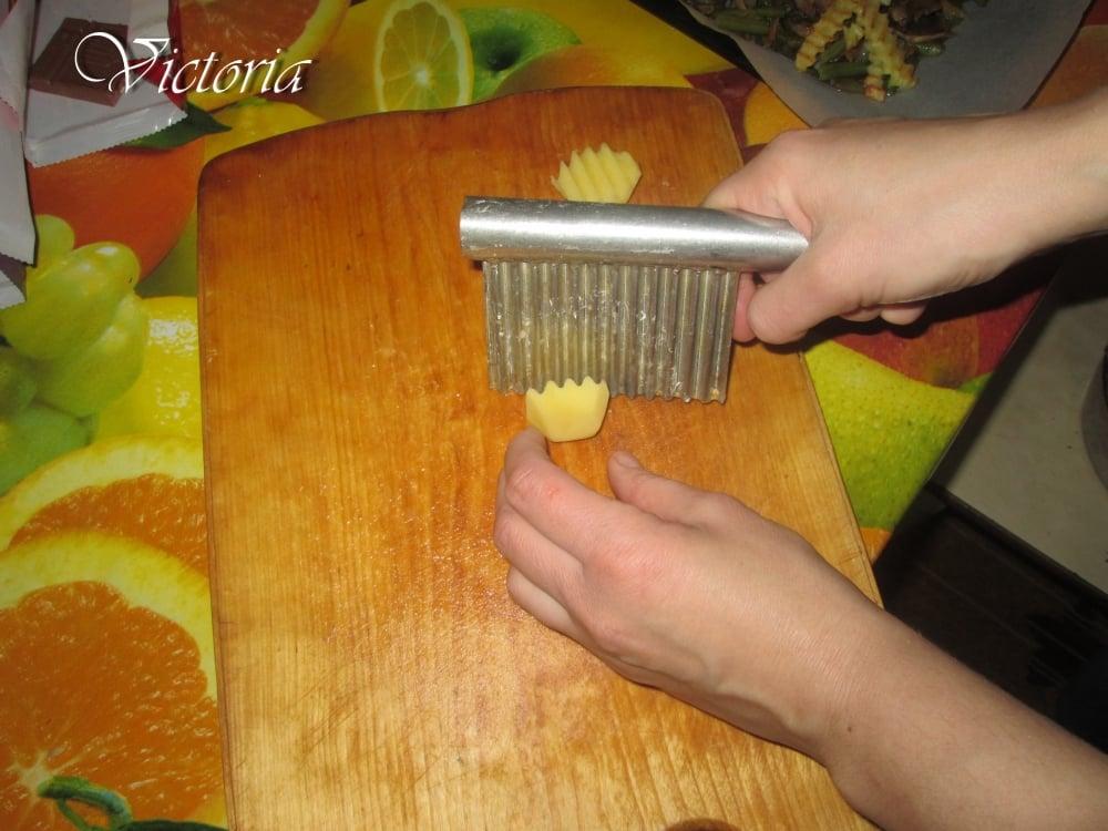 Овощное рагу с курицей - приготовление, шаг 10