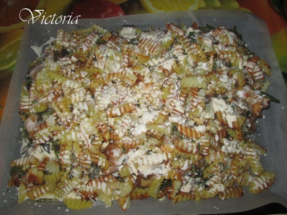 Овощное рагу с курицей - приготовление, шаг 12