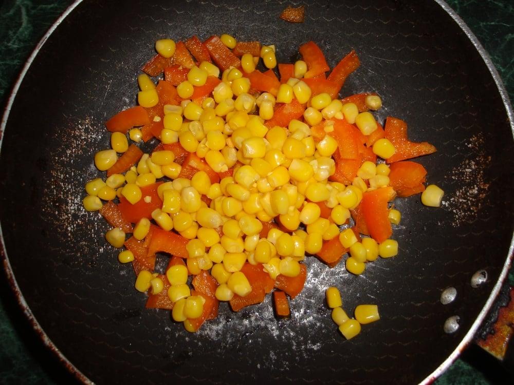 Макароны с овощами - приготовление, шаг 2
