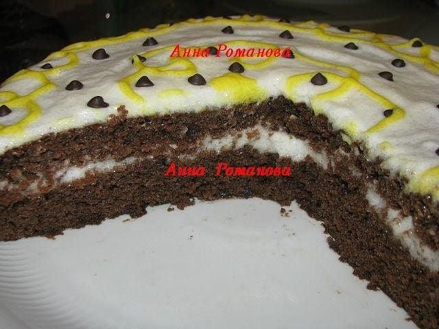 Постный ананасовый торт - приготовление, шаг 1
