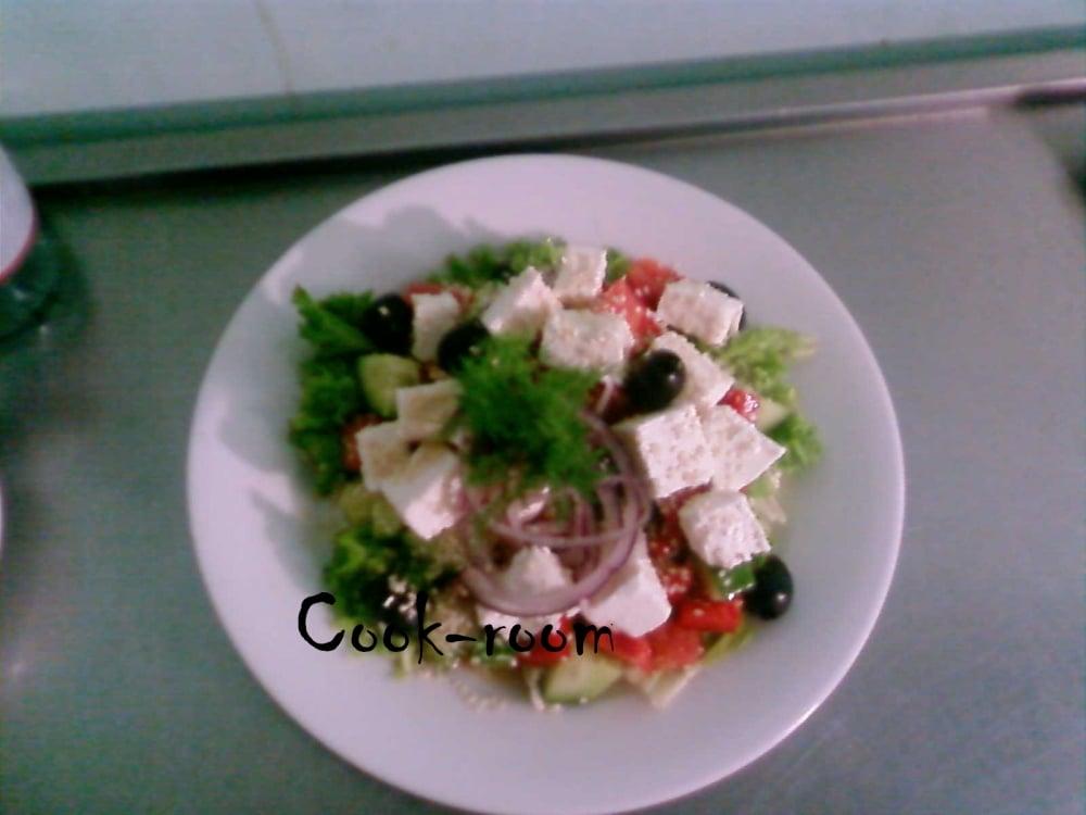 Салат греческий - приготовление, шаг 1