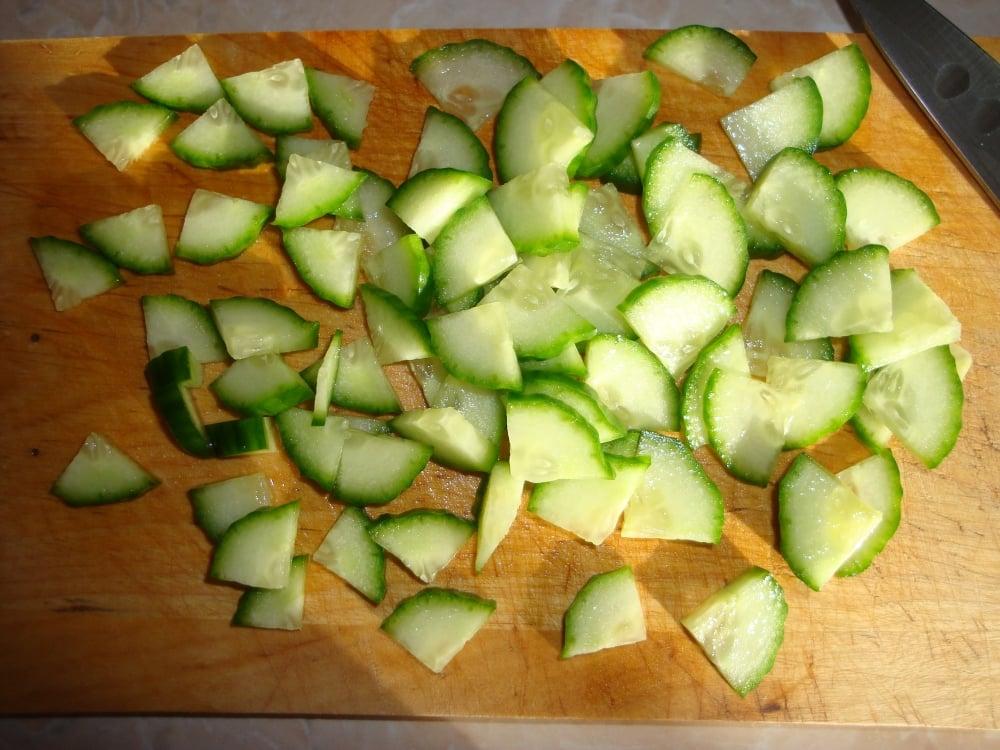Весенний салат - приготовление, шаг 2