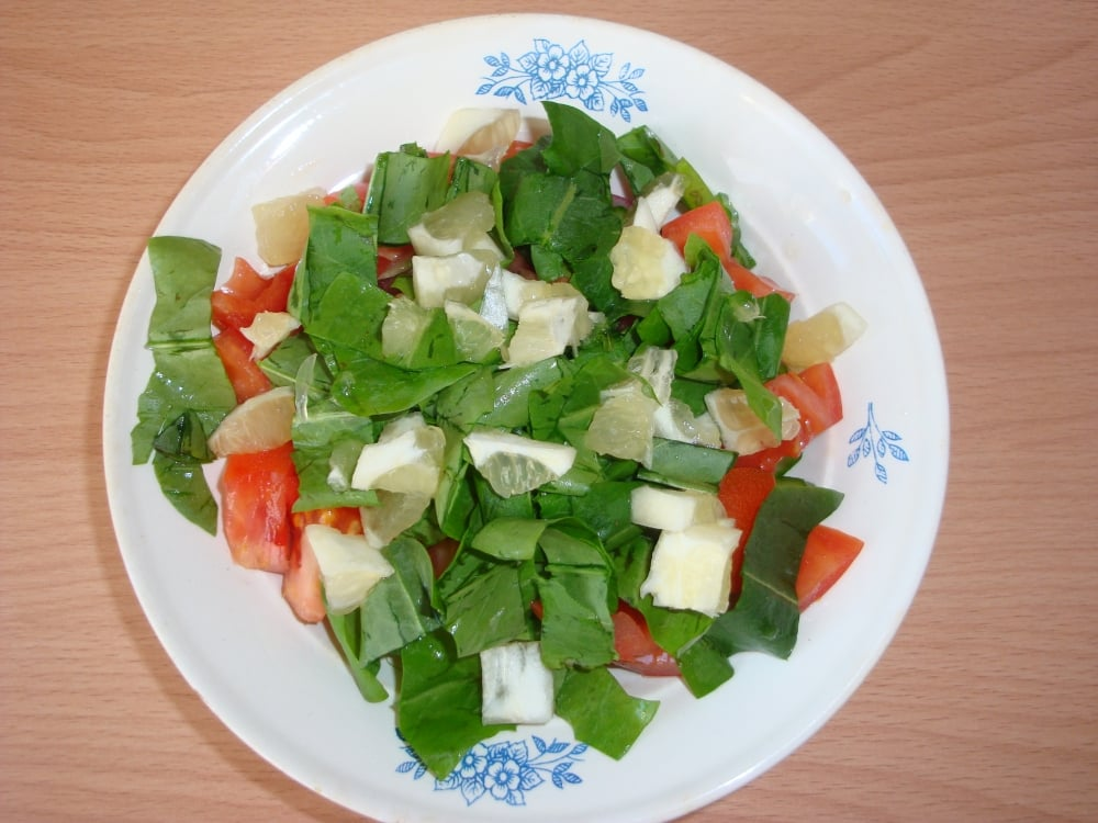 Весенний салат - приготовление, шаг 4