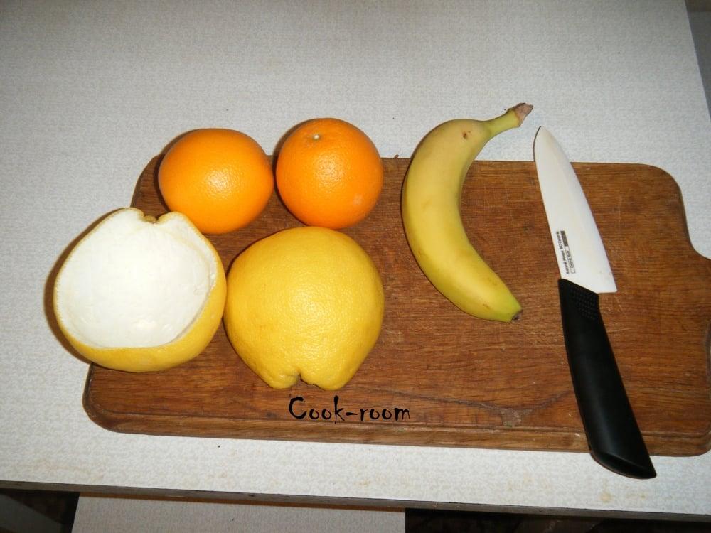 Фруктовый салат - приготовление, шаг 1