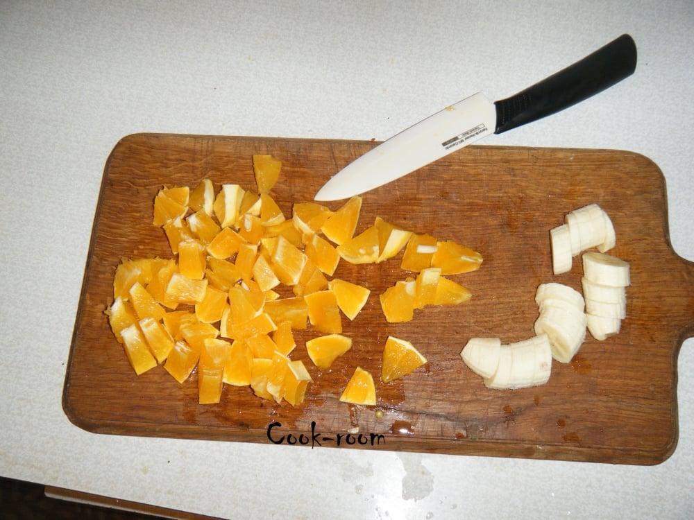 Фруктовый салат - приготовление, шаг 3