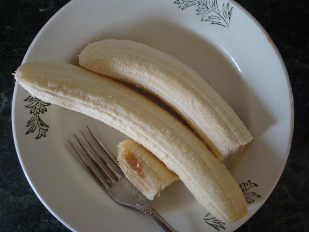 Постные банановые булочки - приготовление, шаг 1