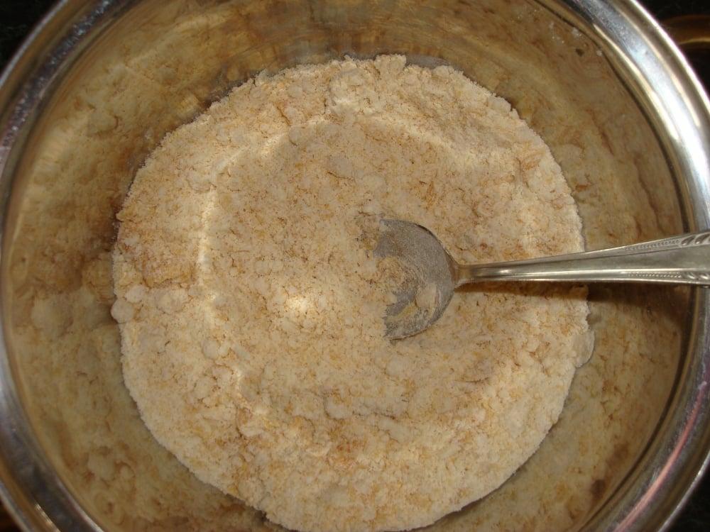 Постные банановые булочки - приготовление, шаг 2
