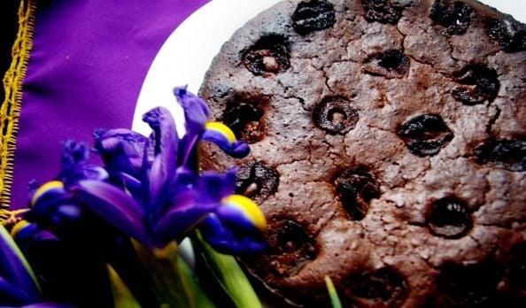 Постный шоколадный торт с финиками - приготовление, шаг 2