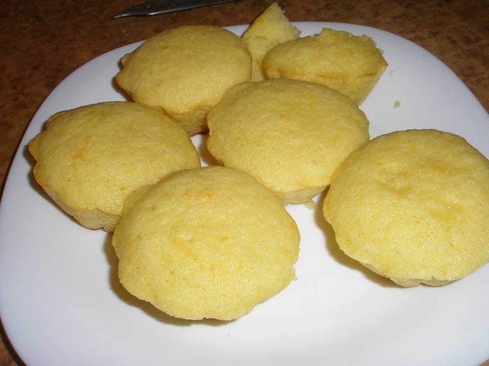 Апельсиновые кексики - приготовление, шаг 5