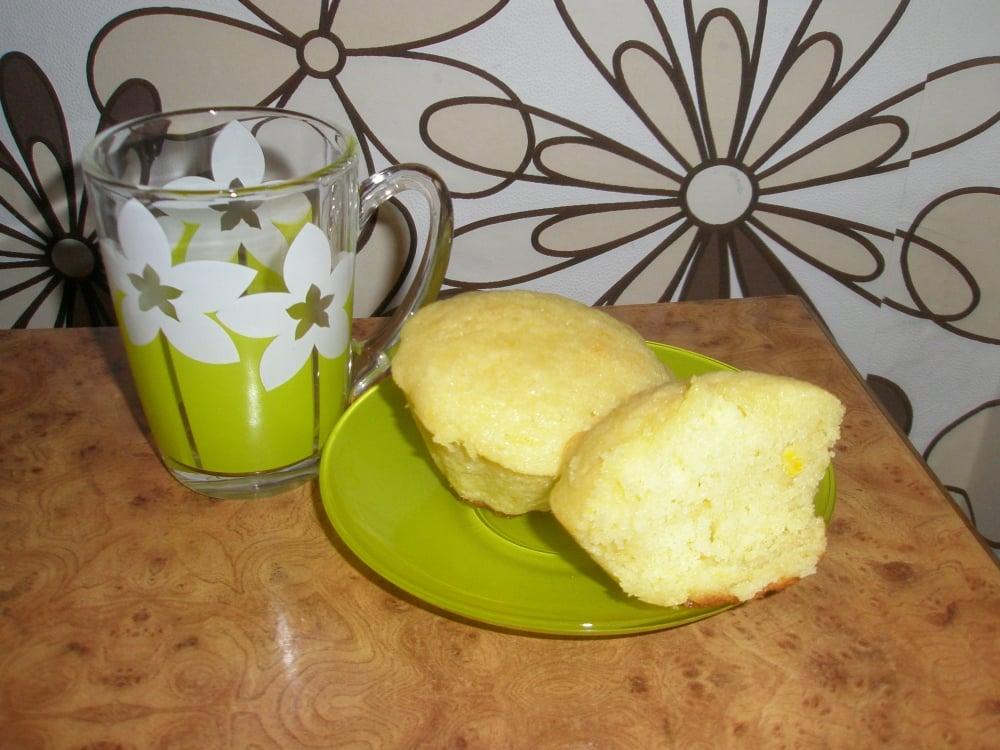 Апельсиновые кексики - приготовление, шаг 7