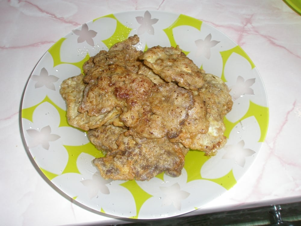 Жареная куриная печень - приготовление, шаг 1