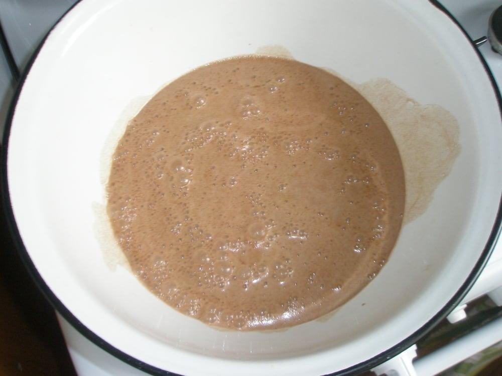 Шоколадные маффины с творогом - приготовление, шаг 2