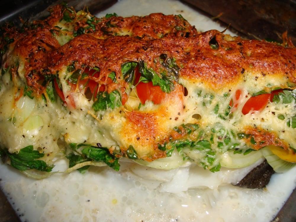 Стейк зубатки с овощами - приготовление, шаг 3