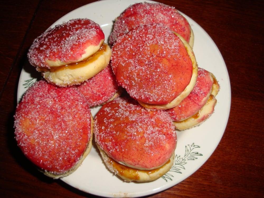 Пирожные Персики - приготовление, шаг 3