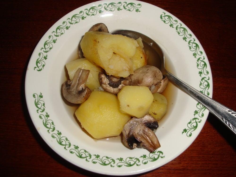 Картошка с грибами и специями - приготовление, шаг 3