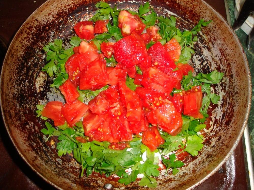 Запеченные котлеты из телятины с овощным соусом - приготовление, шаг 4