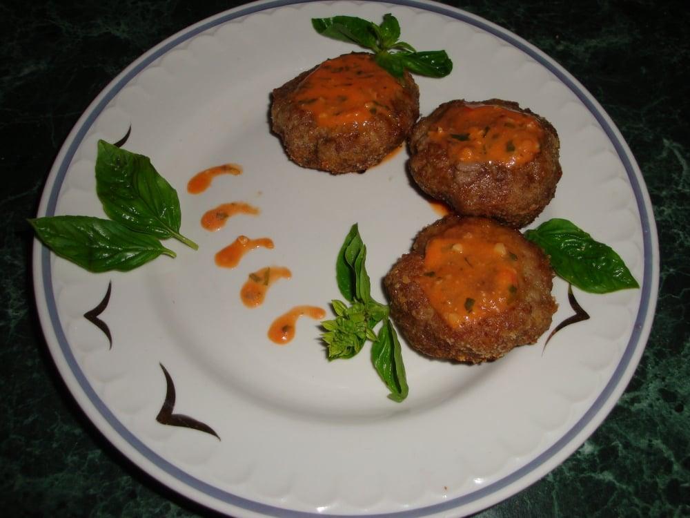Запеченные котлеты из телятины с овощным соусом - приготовление, шаг 5
