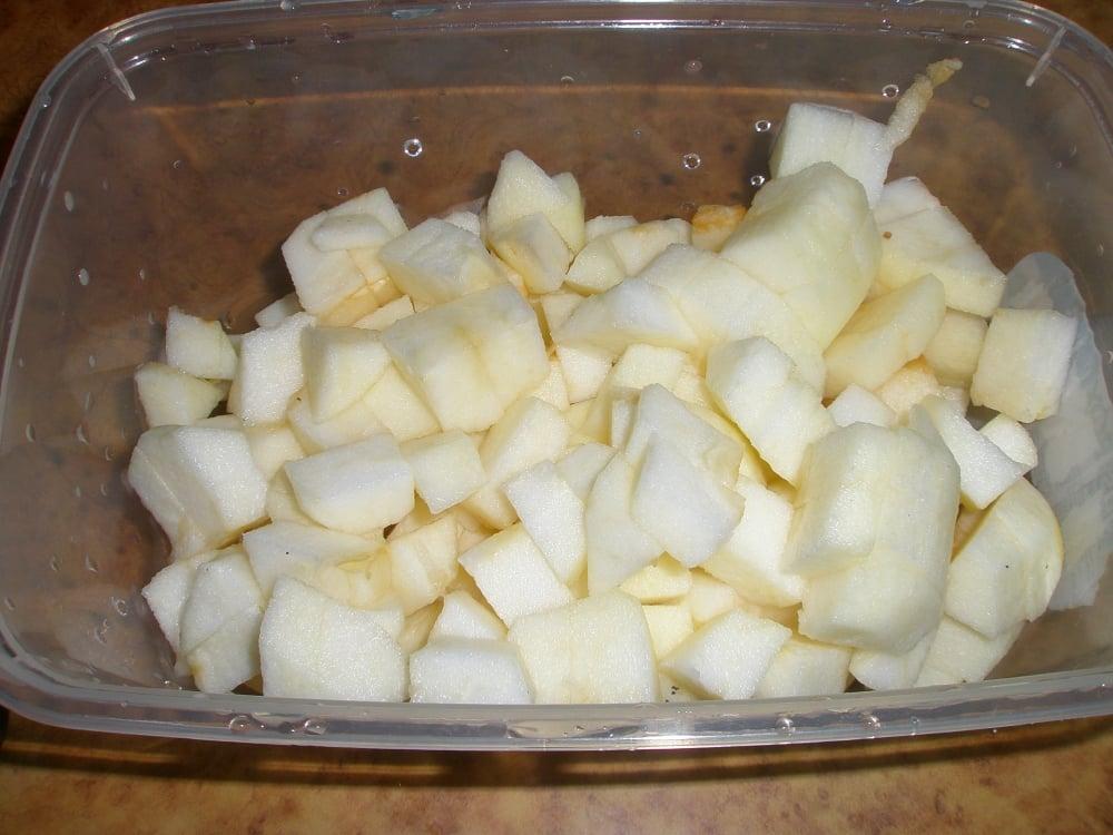 Кексы с яблоками и корицей - приготовление, шаг 1