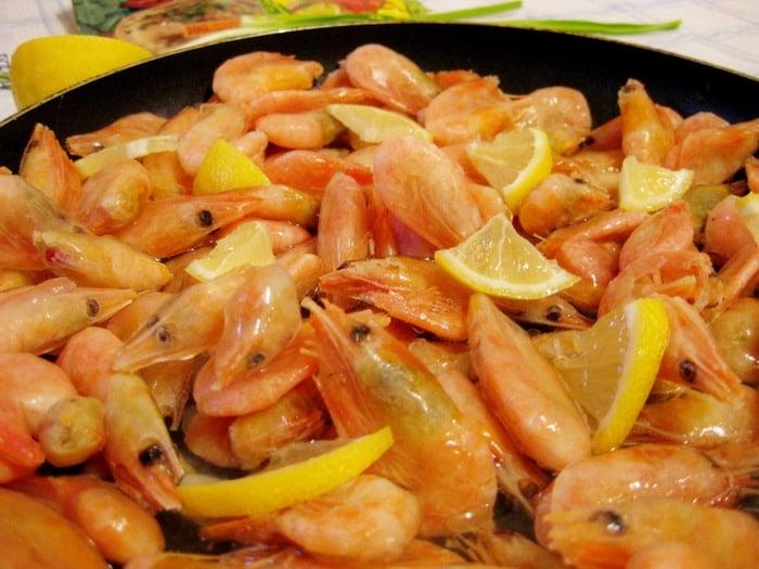 Жареные креветки с карри и соевым соусом - приготовление, шаг 2