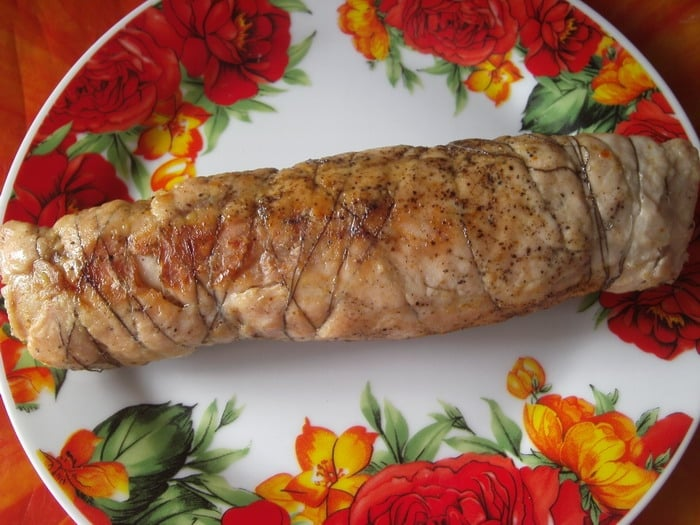 Куриные рулетики с грибами и сыром - приготовление, шаг 8