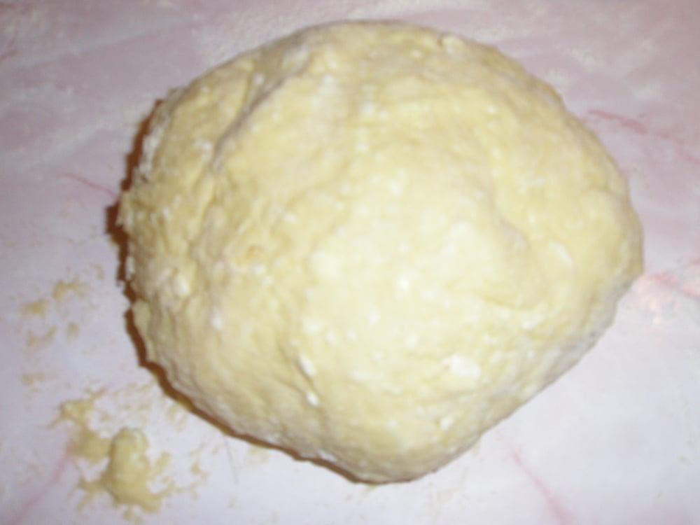 Сырние пончики - приготовление, шаг 1
