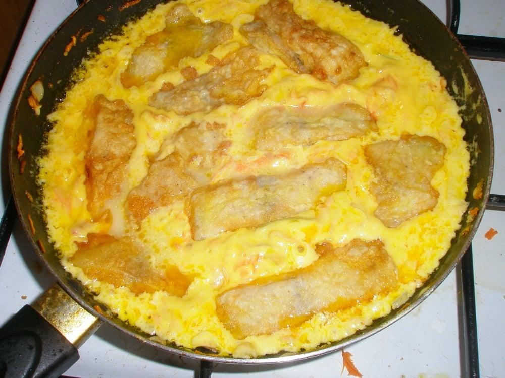Рыба с овощами - приготовление, шаг 5