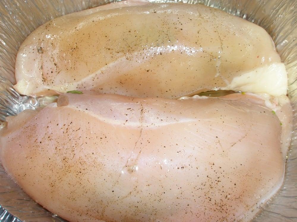 Куриное филе с брокколи - приготовление, шаг 4