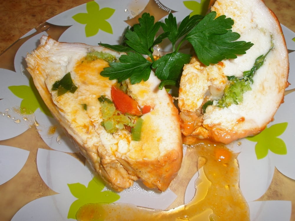 Куриное филе с брокколи - приготовление, шаг 7