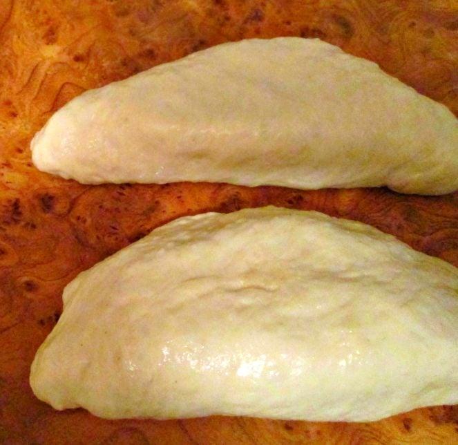 Пирожки из дрожжевого пресного теста - приготовление, шаг 2