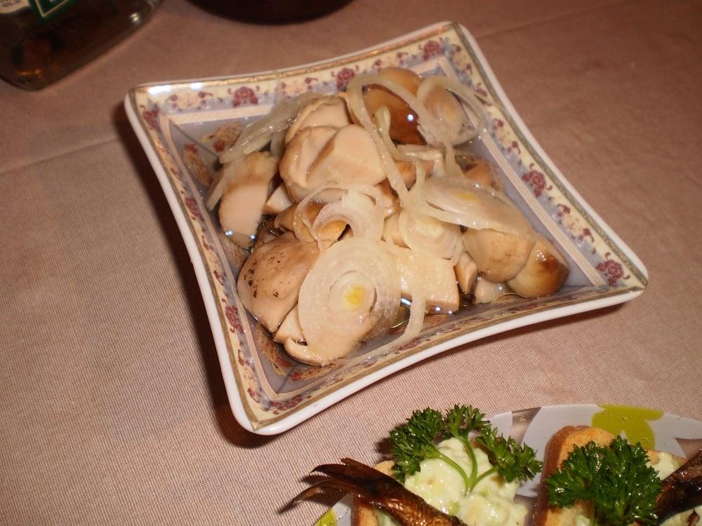 Маринованные белые грибы - приготовление, шаг 1
