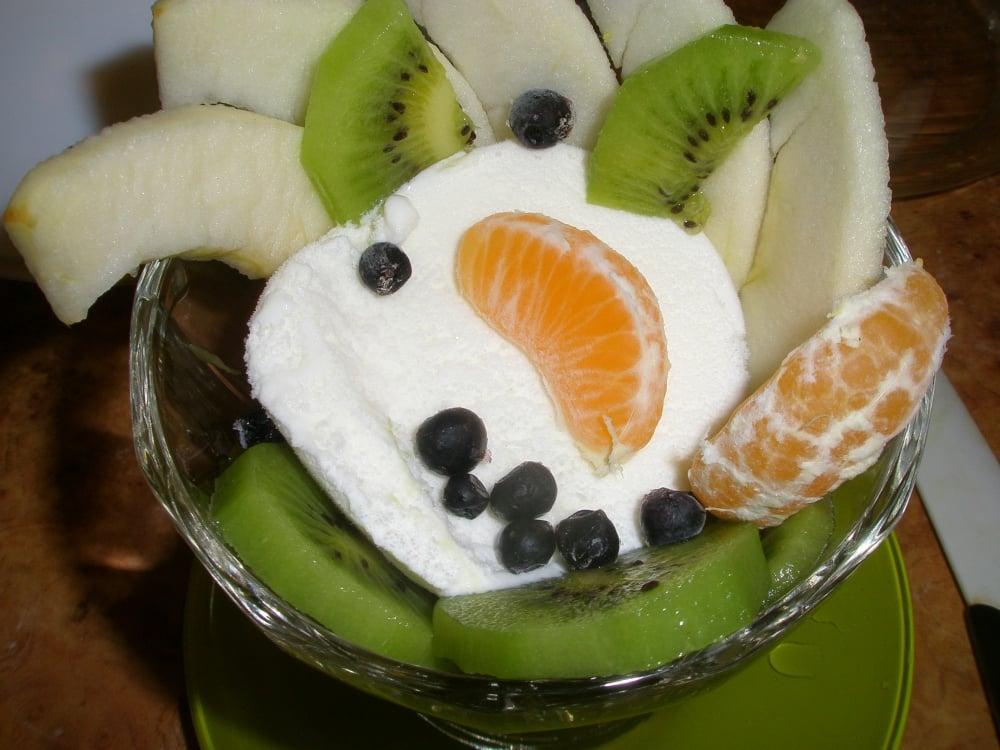 Мороженое  с фруктами - приготовление, шаг 4
