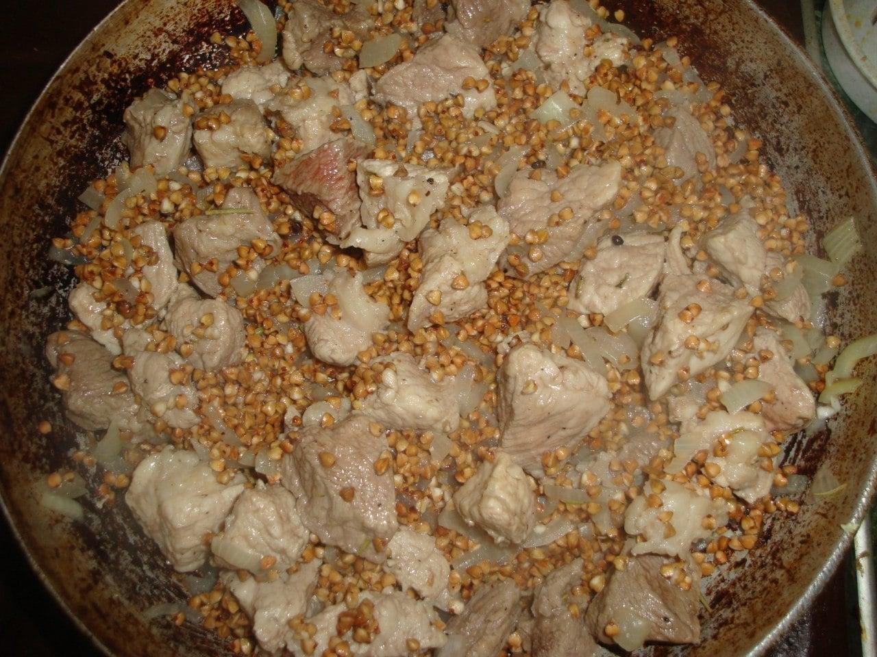 Гречка с мясом по-купечески - приготовление, шаг 3